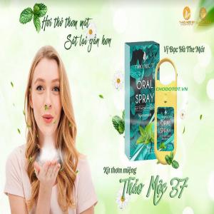 Oral Spay – vị bạc hà the mát